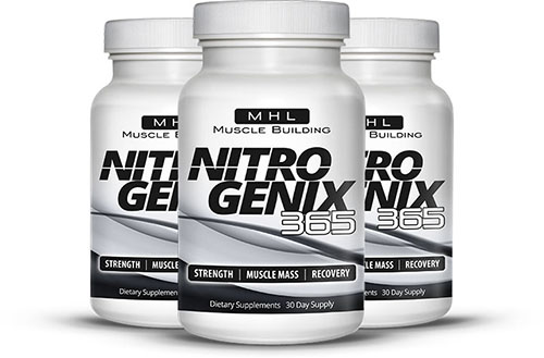 NitroGenix 365 – Get the Muscles You Want and Experience Many Other Benefits As Well!!!