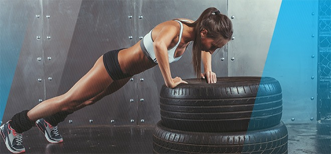 Push up makes your core stronger and healthier