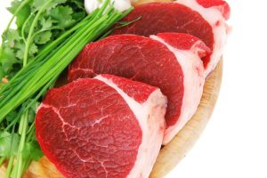 meat, raw steak, zinc