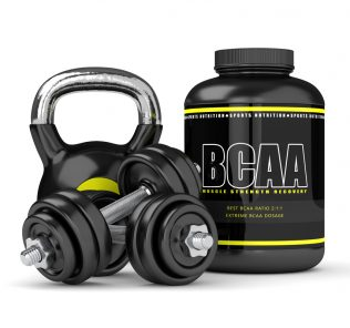 BCAA supplement with weights can be taken with Progentra