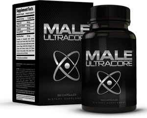 Male UltraCore Menlivehealthy Bottle and Box