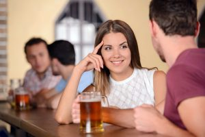 How to Buy that Pretty Girl across the Bar a Drink without Looking Creepy