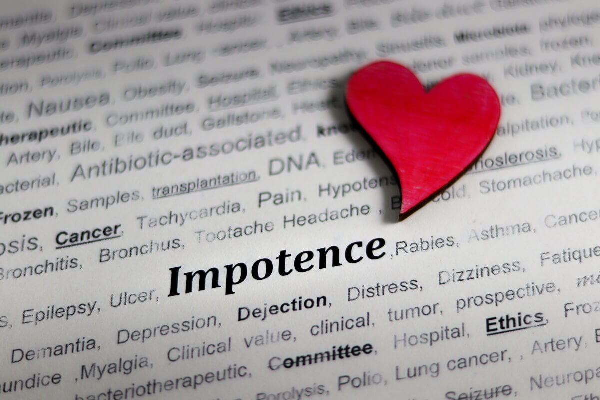 Impotence is unhealthy