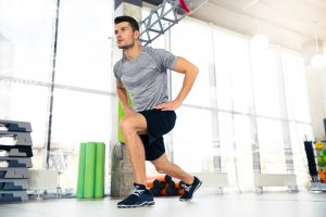 lunges for leg workout